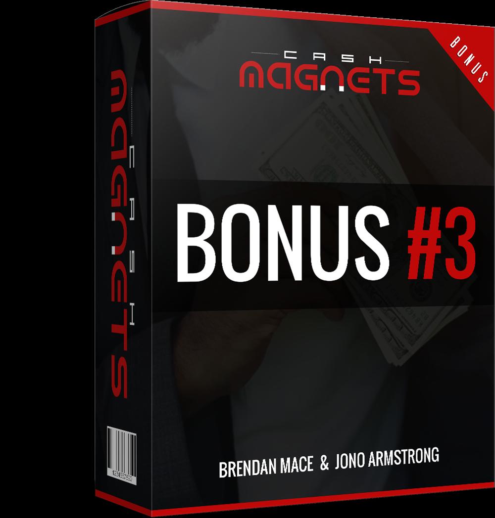 Cash Magnets Review bonus